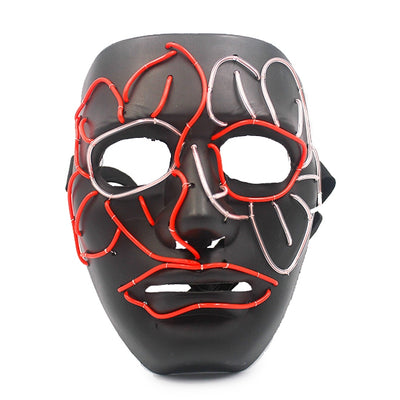 Twisted LED Mask