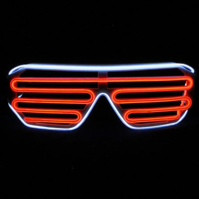 LED Shutter Sunglasses | Light up UK Brand