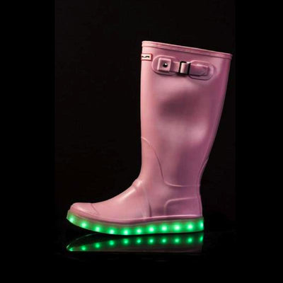 Wellies - Light Up Flashez Wellies - Candy Pink