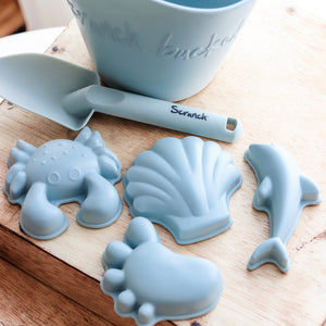 Scrunch | Sand Moulds - Set of 4