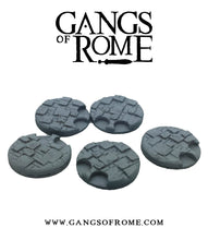 Resin Cobbled Fighter Jigsaw bases (Pack of 5)