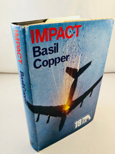 Basil Copper - Impact (19), Robert Hale 1975, 1st Edition, Inscribed