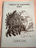 Spirits of Another Sort, Ghostly Tales of Tompion College - Alan W. Lear, Haunted Library, Rosemary Parode 1992
