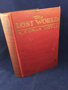 Arthur Conan Doyle - The Lost World, A. L. Burt 1912, USA 1st Edition