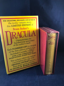 Bram Stoker - Dracula, Limited Collectors Edition, Identical to the first edition