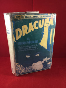 Bram Stoker - Dracula, Grosset & Dunlap, New York, 1931 (US Edition) - Illustrated  from the Universal picture