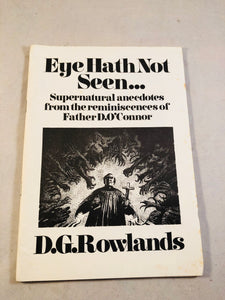 David Rowlands - Eye Hath Not Seen... Haunted Library, Rosemary Pardoe 1980