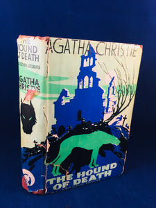 Agatha Christie - The Hound of Death and Other Stories, Odhams Press 1933, 1st Edition