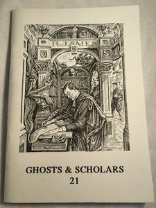 Ghosts & Scholars - Haunted Library, Rosemary Pardoe 1996, Issue 21
