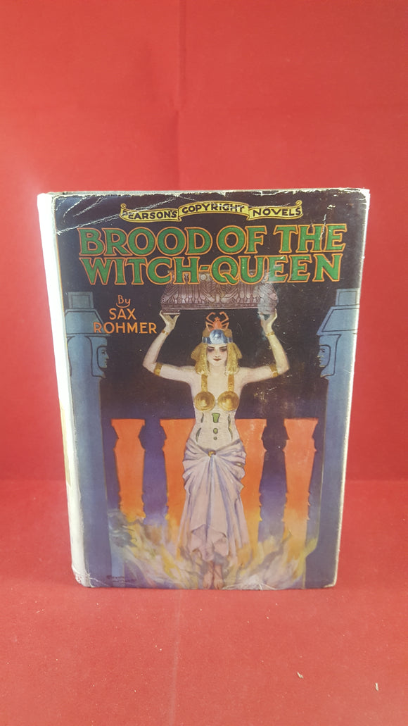 Sax Rohmer - Brood of the Witch-Queen, C.Arthur Pearson Limited, 1933 reprint