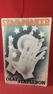 Olaf Stapledon - Star Maker, Methuen & Co Limited, 1937 rare paperback 1st Edition