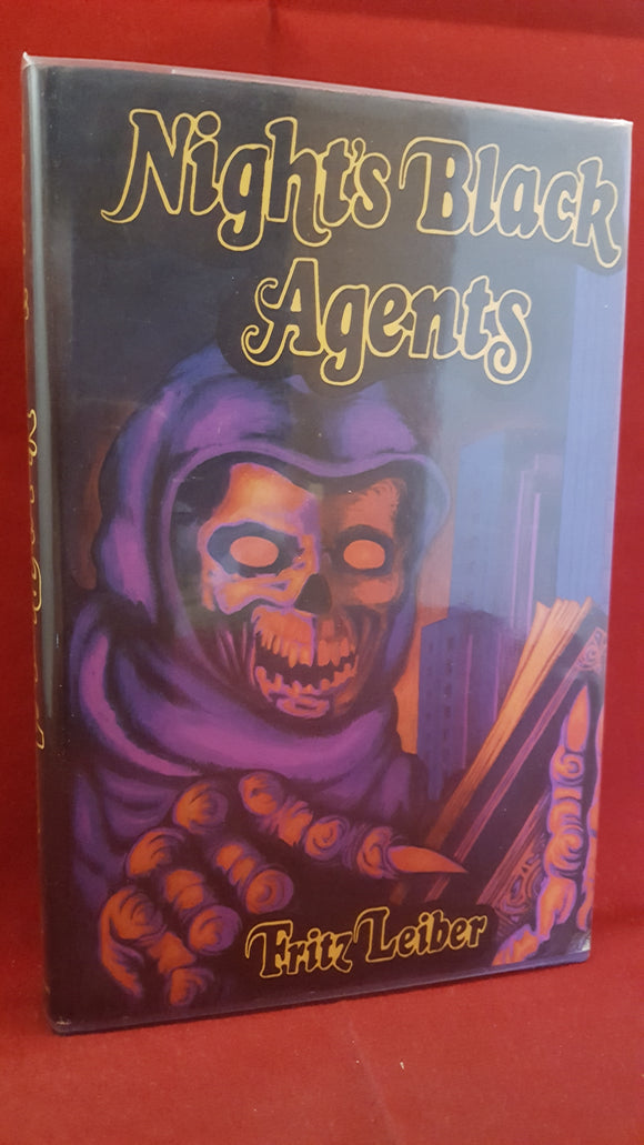 Fritz Leiber Jr - Night's Black Agents, Neville Spearman, 1975, Inscribed 1st Great Britian