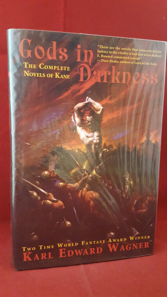 Karl Edward Wagner - Gods In Darkness, Night Shade Books, 2002, First Hardback and Combined Edition 1st Edition