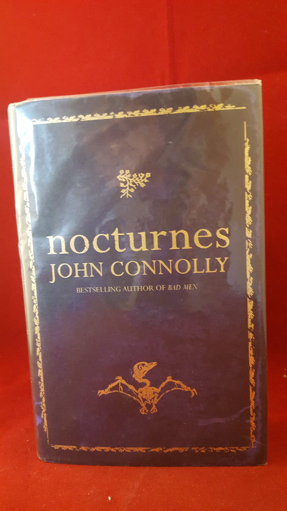 John Connolly - Nocturnes, Hodder & Stoughton, 2004, 1st Edition, Signed
