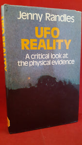 Jenny Randles - UFO Reality A critical look at the physical evidence, Robert Hale, 1983, 1st