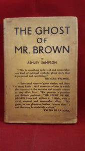Ashley Sampson - The Ghost Of Mr Brown, The Fortune Press, 1941? 1st?