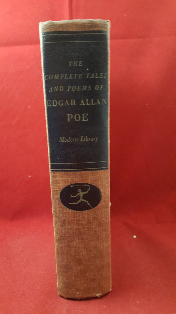 Edgar Allan Poe - The Complete Tales And Poems, The Modern Library, 1938, 1st Edition