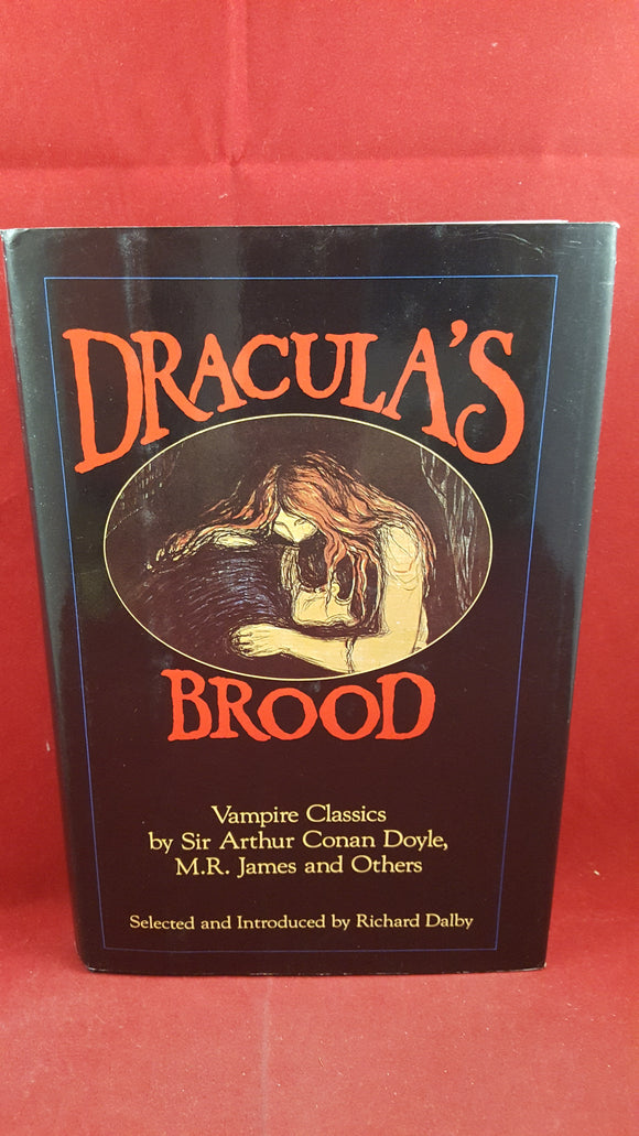 Richard Dalby - Dracula's Brood, Dorset Press, 1987, 1st Edition