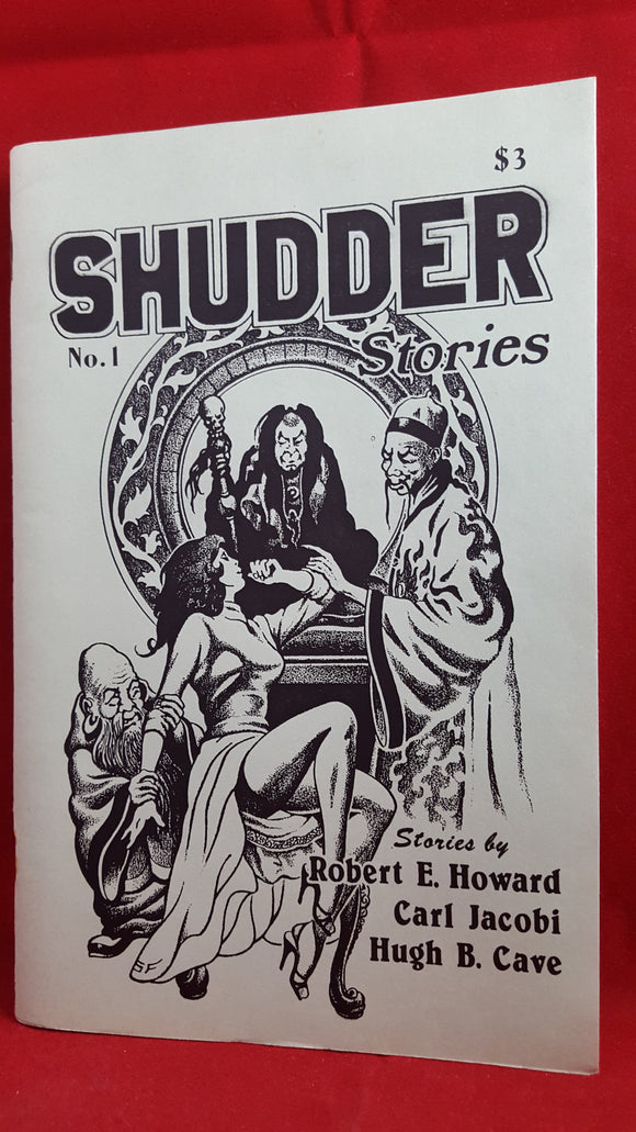 Robert E Howard - Shudder Stories No. 1, June 1984, Cryptic Publications