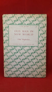 Olaf Stapledon - Old Man In New World, George Allen & Unwin Ltd, 1944, 1st, PEN books