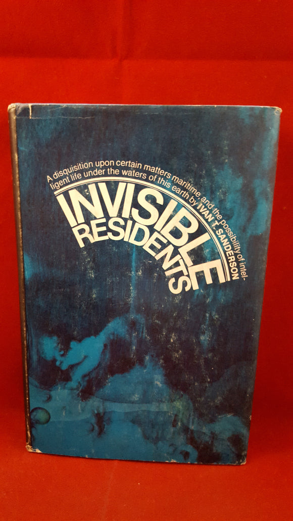 Ivan T Sanderson - Invisible Residents, The World Publishing Company, 1970, Book Club Edition