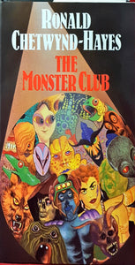 R Chetwynd-Hayes - The Monster Club, Severn House, 1992, 1st Hardcover edition