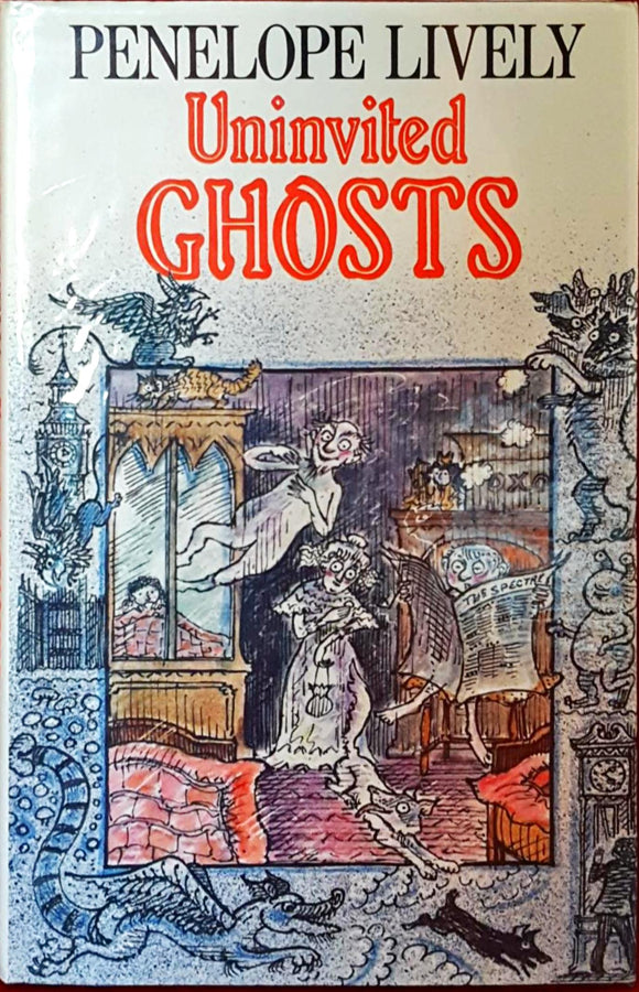 Penelope Lively - Uninvited Ghosts, Heinmann, 1984, 1st Edition Children's Book
