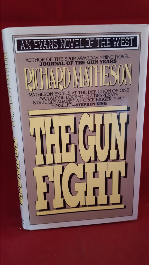 Richard Matheson - The Gun Fight, Evans, 1993, 1st Edition