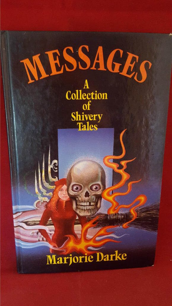 Marjorie Drake - Messages  A Collection of Shivery Tales, Viking Kestrel,1984