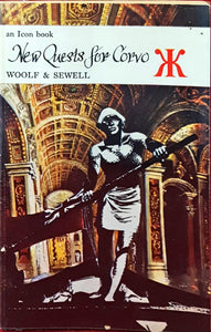Cecil Woolf & Brocard Sewell - New Quests for Corvo, Icon Book, 1965