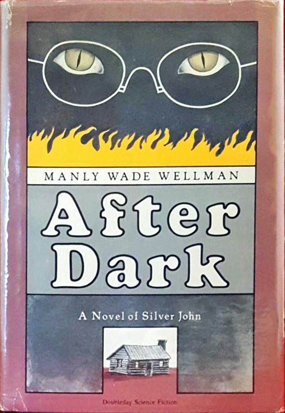 Manly Wade Wellman - After Dark, Doubleday Science Fiction, 1980, 1st Edition, 1st Printing