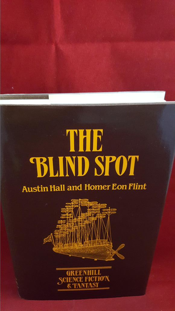 Austin Hall & Homer Eon Flint-The Blind Spot,Sci fi & Fantasy, 1987, Review copy