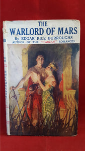 Edgar Rice Burroughs - The Warlord Of Mars, Methuen & Co, 1921
