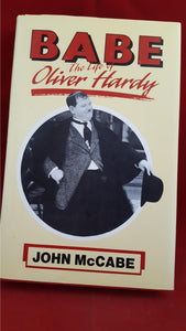 Oliver Hardy - John McCabe - BABE: The Life of Oliver Hardy, Robson Books, 1989, Review copy/letter