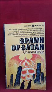 Charles Birkin - Spawn Of Satan, Award Books, 1970, 1st Edition