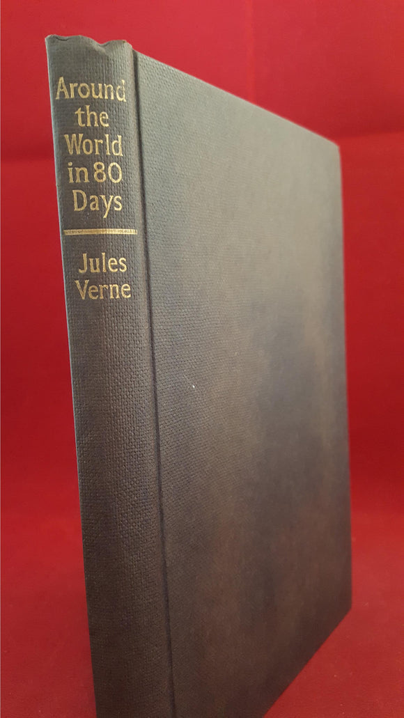Jules Verne - Around The World In Eighty Days, Arco 1967, 1st Edition, Signed