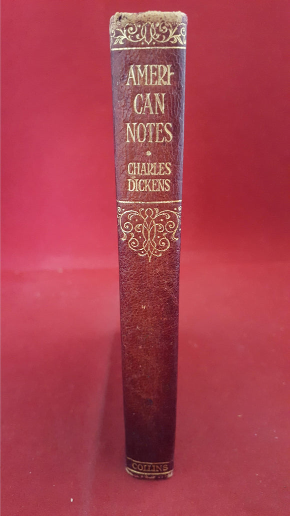 Charles Dickens - American Notes, Collins, Pocket Volume