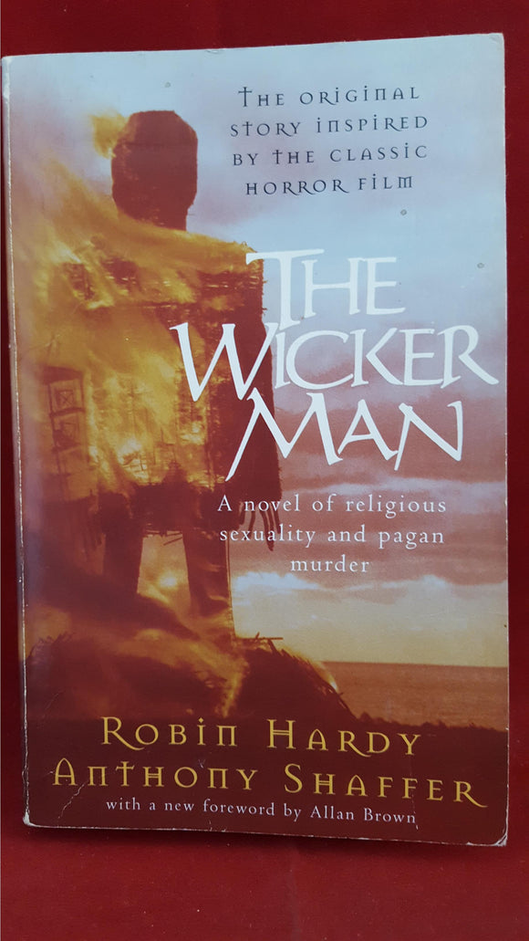 Robin Hardy - The Wicker Man, Pan Books, 2000, Signed