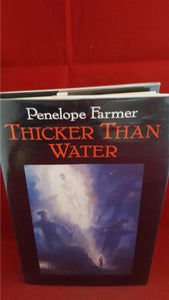 Penelope Farmer - Thicker Than Water, Walker Books, 1989, 1st Edition