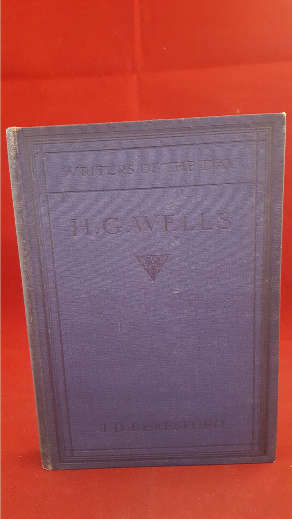 H G Wells by J D Beresford, Nisbet & Co, 1915, 1st Edition
