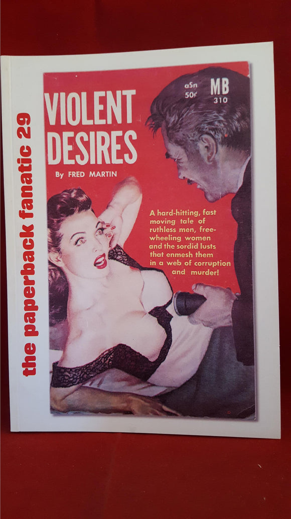 The Paperback Fanatic 29, Violent Desires, Renegade, 2014
