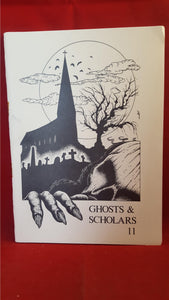 Ghosts & Scholars 11- Rosemary Pardoe, Haunted Library