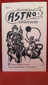Astra Adventures - Tales of Scientifiction No. 2, August 1987, Cryptic Publications