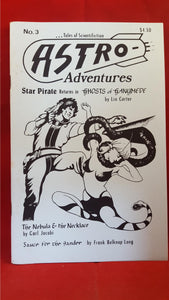 Astra Adventures - Tales of Scientifiction No. 3, January 1988, Cryptic Publications