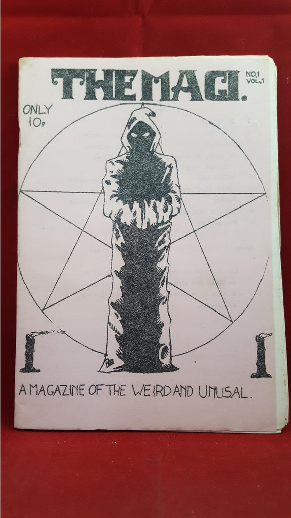 The Magi. No1 Vol 1, A Magazine Of The Weird And Unusal, Joel Lane