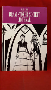 Bram Stoker Society Journal No. 13, 2001