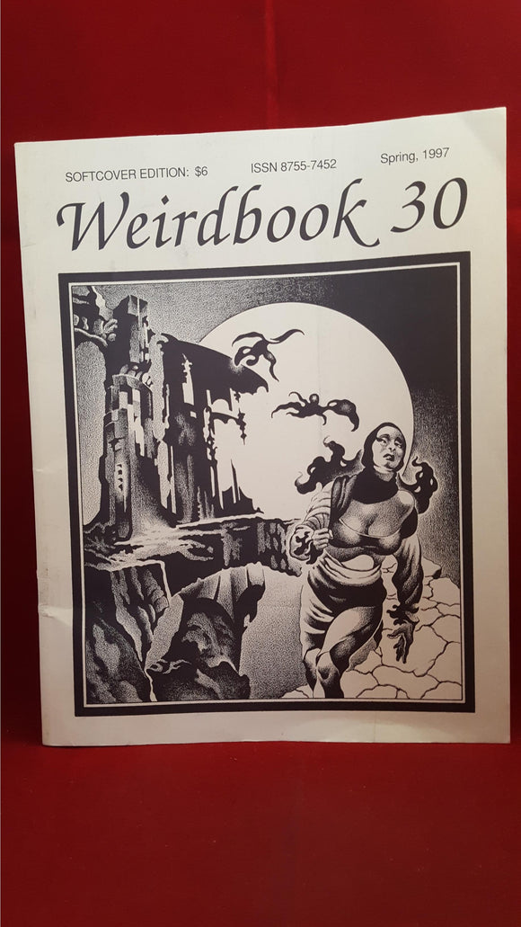 Weirdbook 30 combined with Whispers- Spring 1997, Final Issue