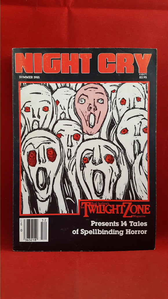 Night Cry - Volume 1, Number 2, Montcalm, Summer 1985