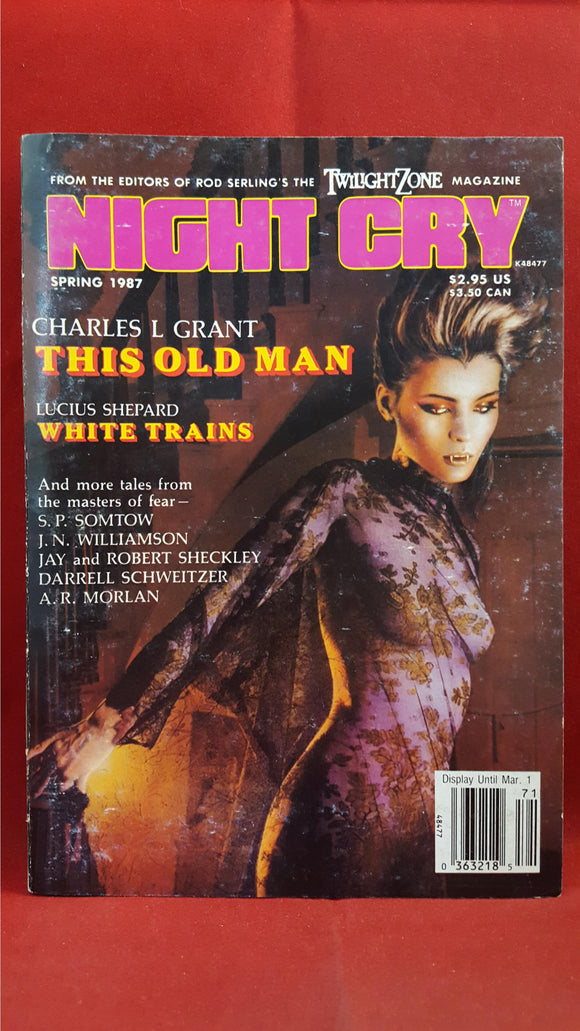 Night Cry - The Magazine Of Terror, Vol. 2, No. 3, Spring 1987