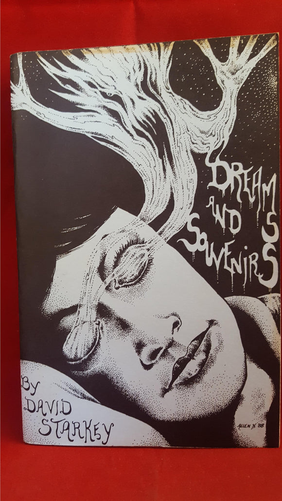 David Starkey - Dreams & Souvenirs, Regions Press, 1989, Signed x2, Limited
